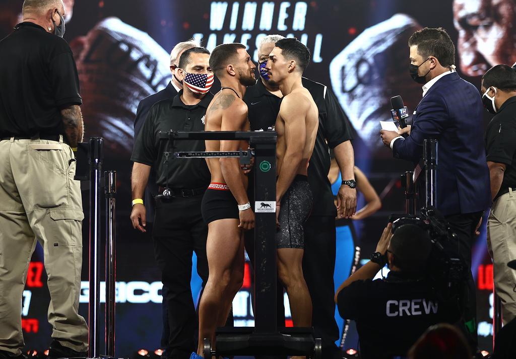 Ломаченко и Лопес выйдут на ринг в Лас-Вегасе «фото»