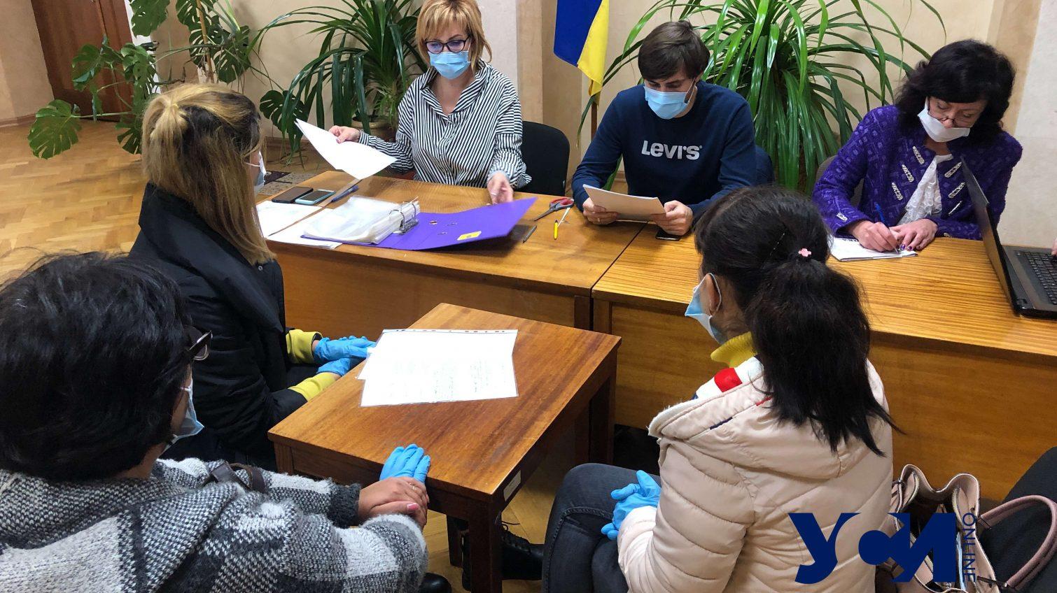 Одесская областная ТИК начала принимать протоколы «фото»