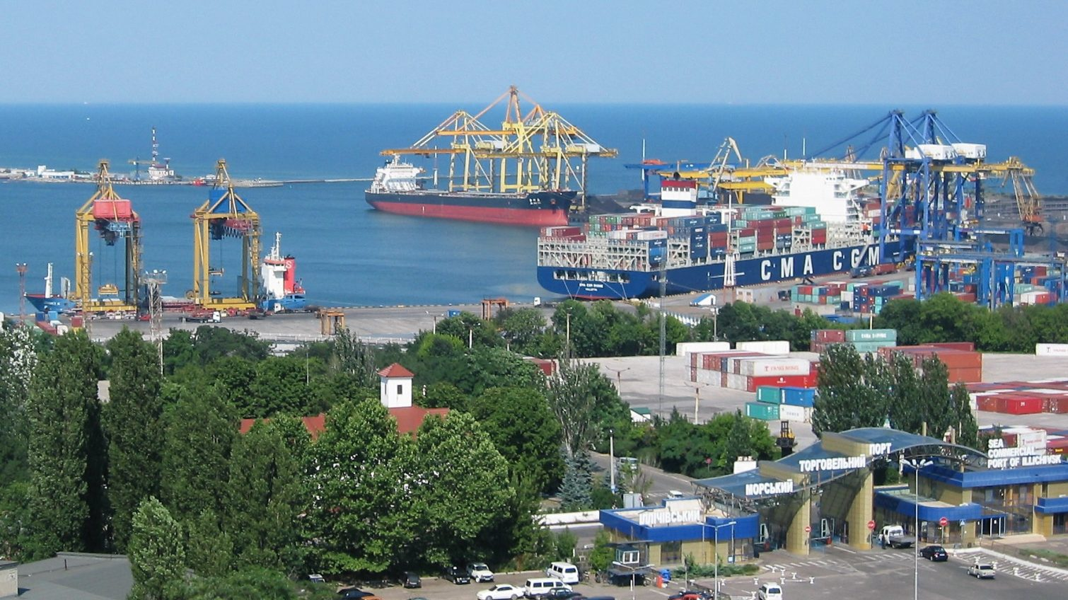 Кабмин определил границы портов Черноморск и Рени «фото»
