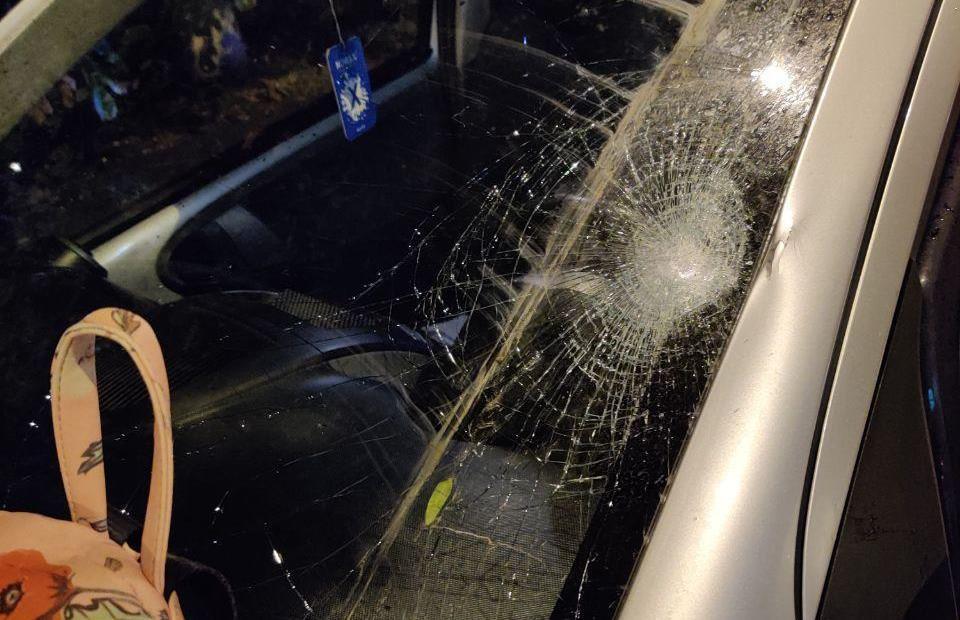 На Мясоедовской автомобиль сбил девочку (фото) «фото»