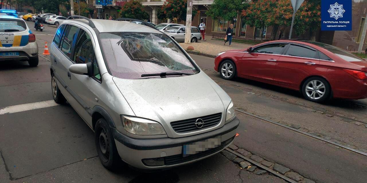 На Старопортофранковский пешеход попал под колеса авто (фото) «фото»