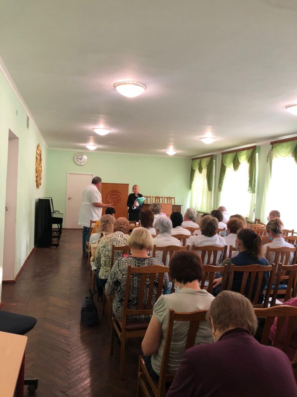 На встрече с врачами Белгород-Днестровской больницы «фото»