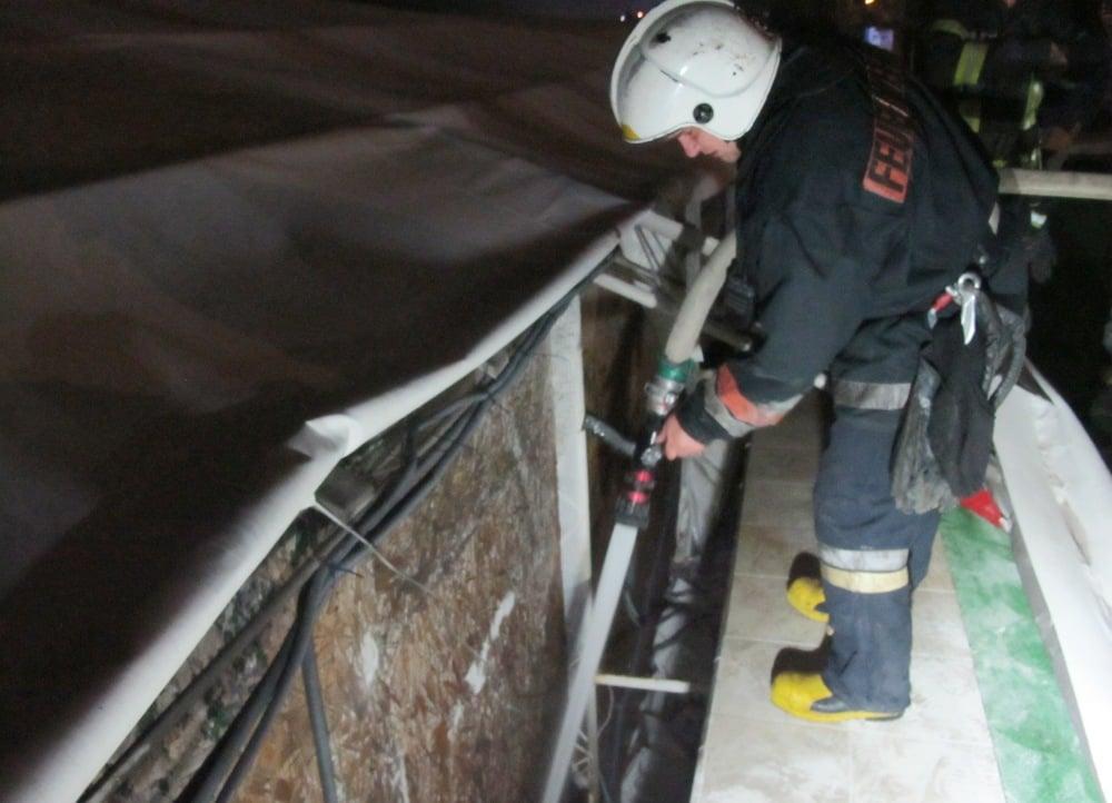 На 10-й станции Большого Фонтана горела гостиница (фото) «фото»