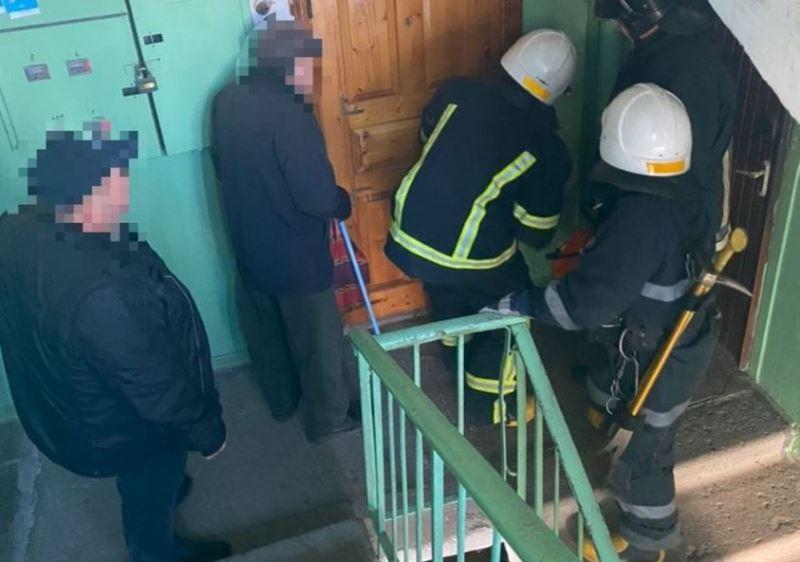 В Одессе спасли пенсионерку: из-за травмы она не могла встать «фото»