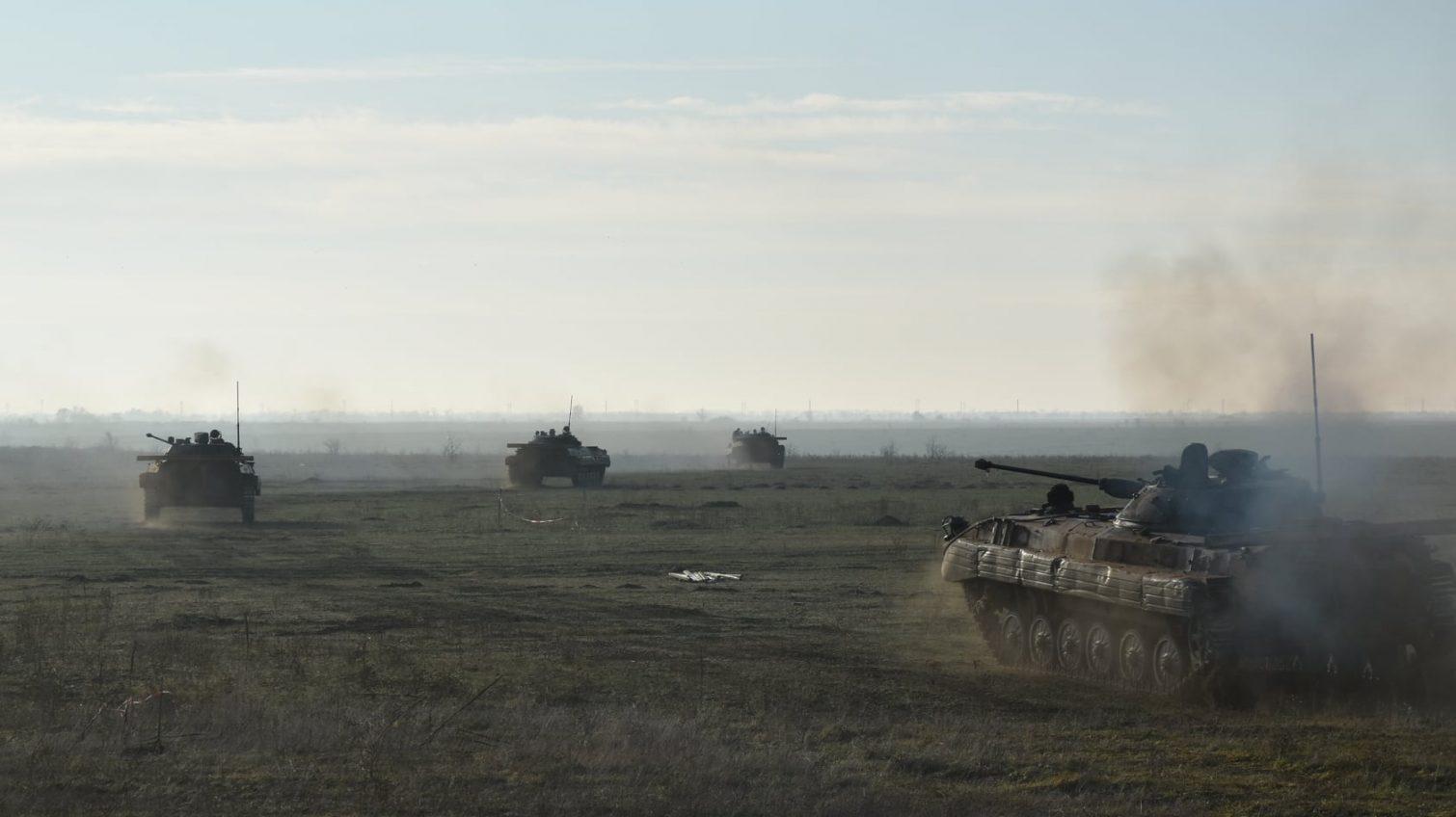 Одесская бригада осваивает современные имитаторы стрельбы (фото) «фото»