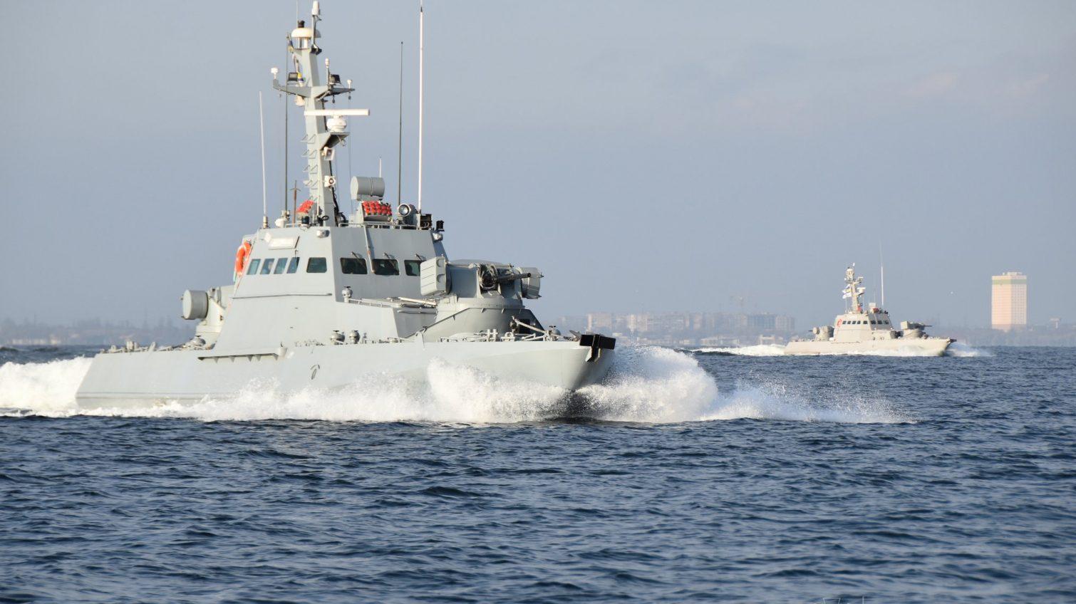 В Одессе прошли учения украинского флота по стандартам НАТО (фото) «фото»