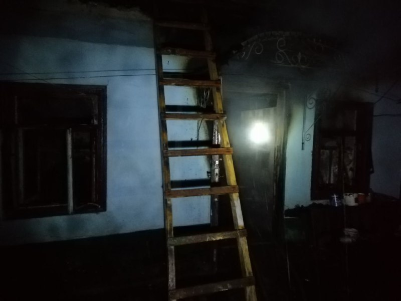 На пожаре в Одесской области погибла пенсионерка (фото) «фото»