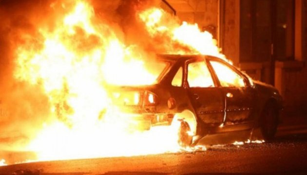 В Одессе дважды за ночь горели автомобили «фото»