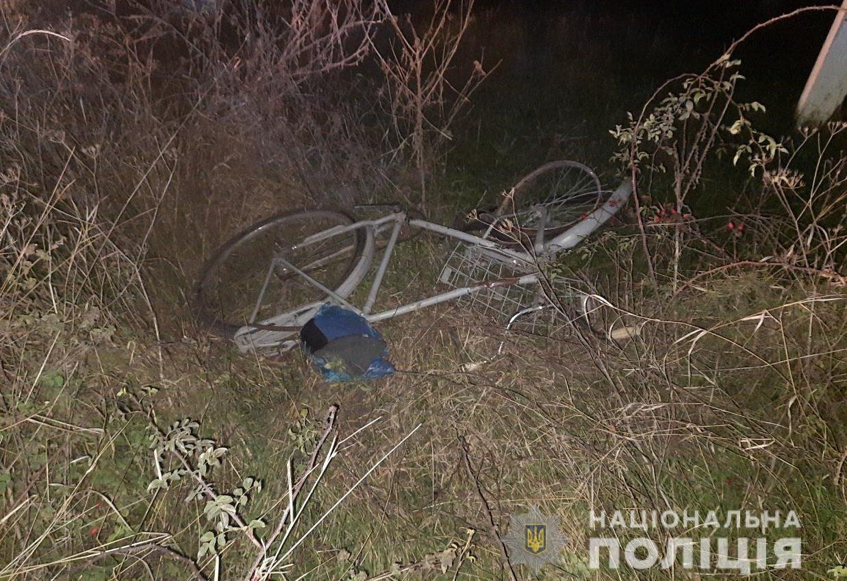 В Одесской области на трассе погиб велосипедист (фото) «фото»