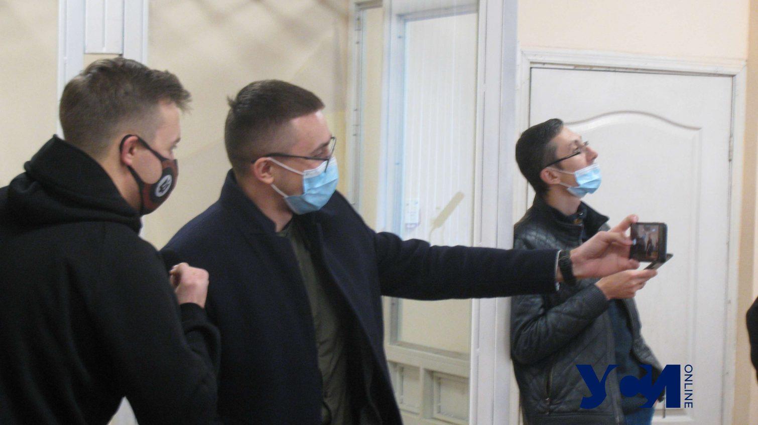 Суд не стал рассматривать вопрос о мере пресечения Стерненко из-за языкового скандала (фото) «фото»