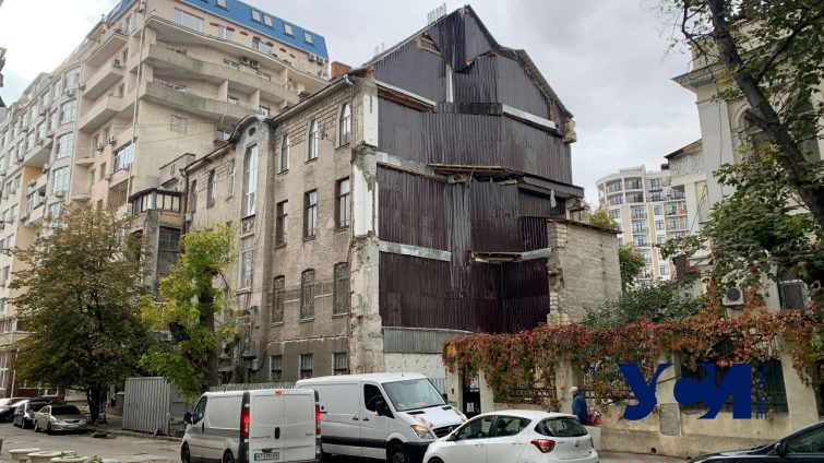 Одесса при Труханове: обрушение домов в центре (видео) «фото»