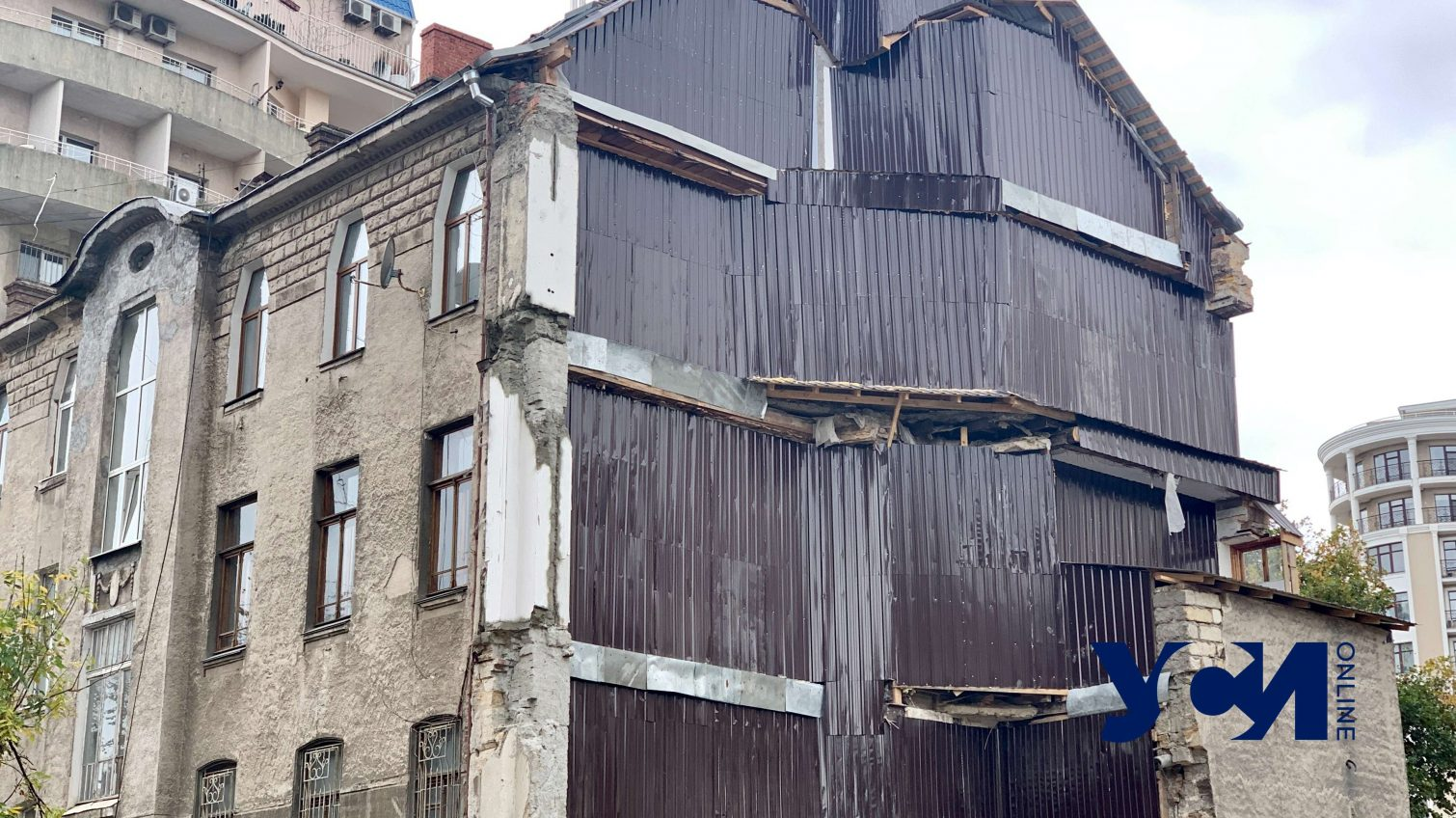 Жители обвалившегося дома на Ясной не знают, как будут зимовать (фото) «фото»