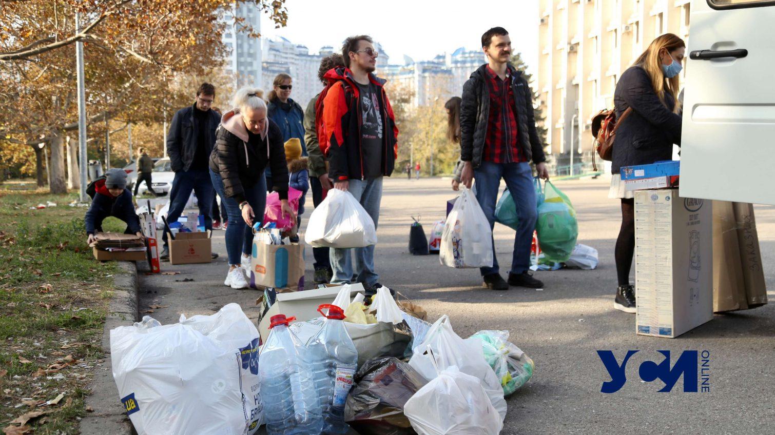 Экомаршрут в Одессе собрал целые очереди (фото) «фото»