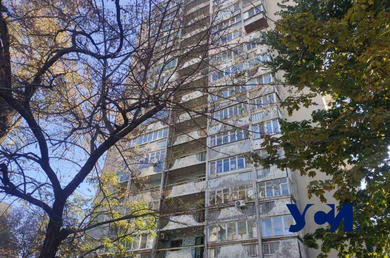 На Черняховского произошел пожар в многоэтажке (фото, видео) «фото»