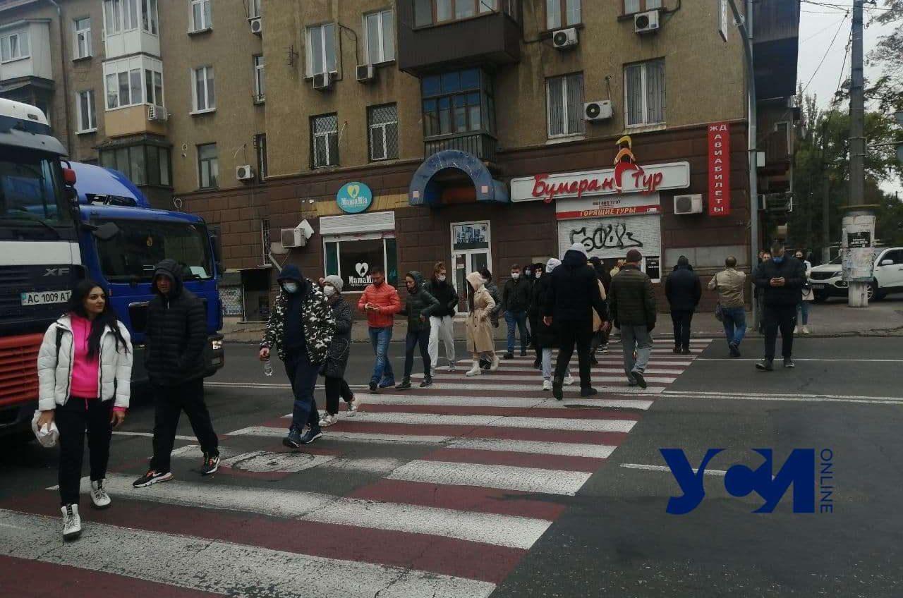 Перекрытие Среднефонтанской: жители «Чудо-города» добиваются выполнения требований (фото) Обновлено «фото»