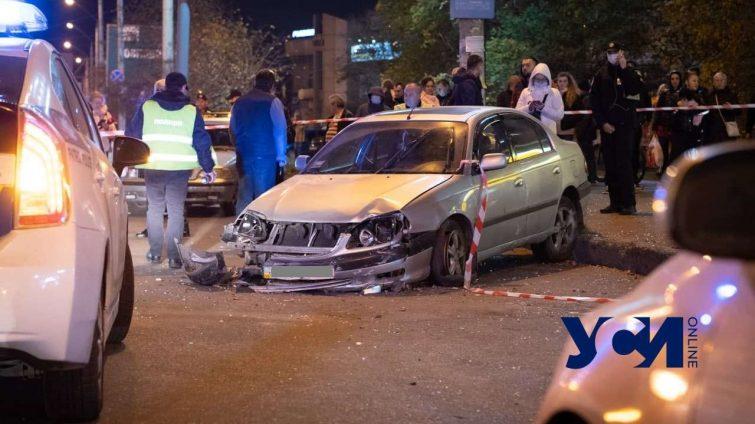 ДТП у остановки на Небесной Сотни: трое пострадавших в больнице «фото»