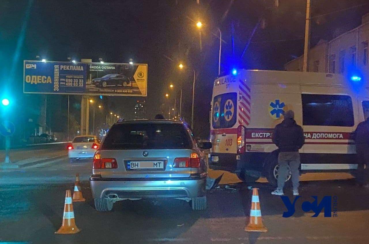 «Скорая» попала в ДТП на Балковской (фото) «фото»