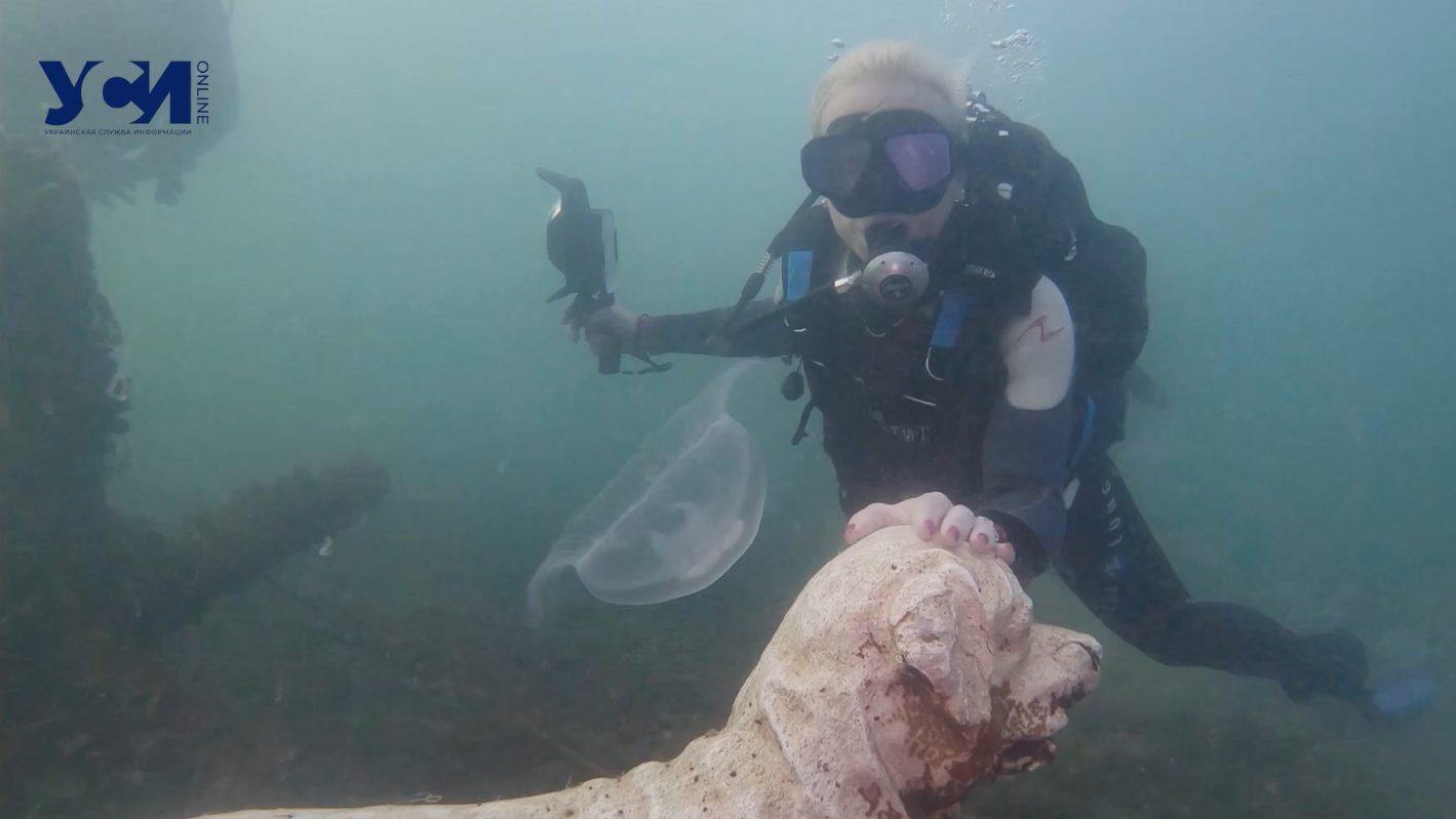 Тайны подводного музея в Одессе: что скрывается на глубине (видео, фото) «фото»
