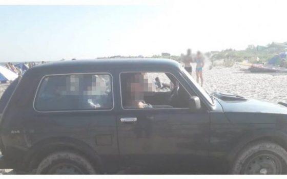 Выехала на пляж и прокатила на капоте: хулиганка отделалась условным сроком «фото»