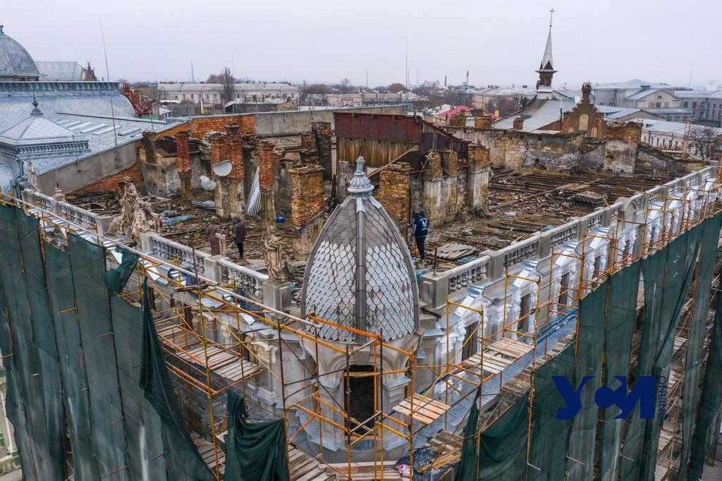 Реставрация дома Либмана: подрядчик винит в задержках мэрию «фото»