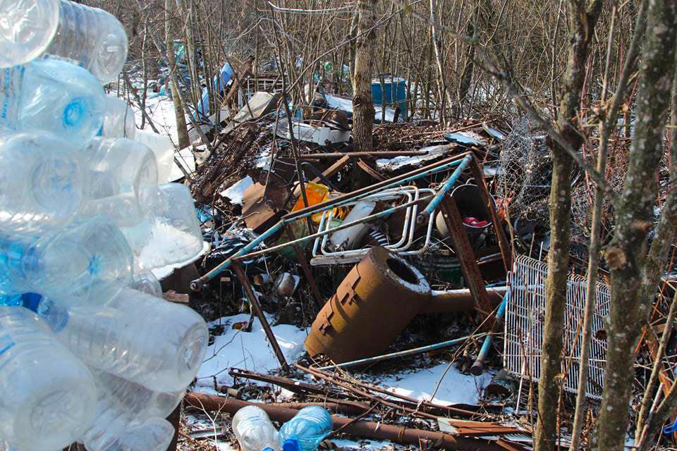 В «Тузловских лиманах» очистили от хлама лес, возвращенный от частника (фото) «фото»