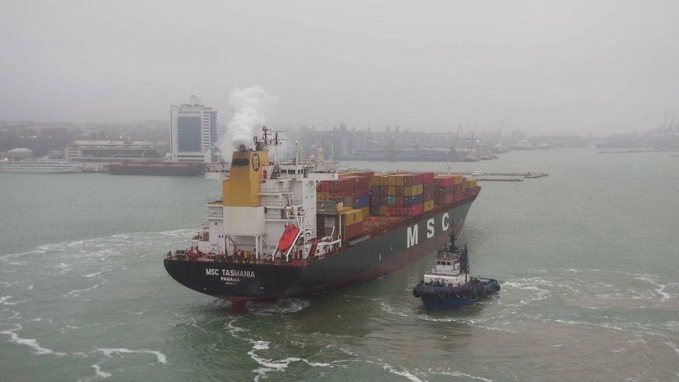Из-за непогоды в портах Одесской области ввели ограничения «фото»