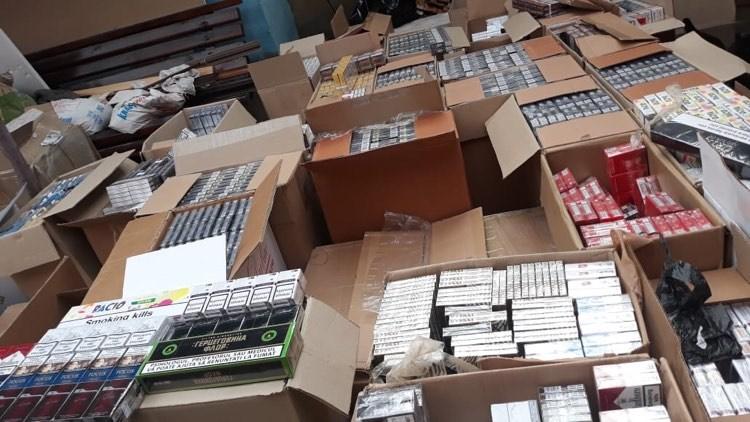 В Подольске нашли 30 тысяч пачек контрабандных сигарет из Молдовы (фото) «фото»
