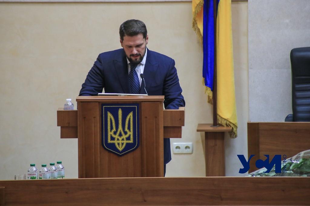 Третьим замом главы Одесского облсовета стал Урбанский «фото»