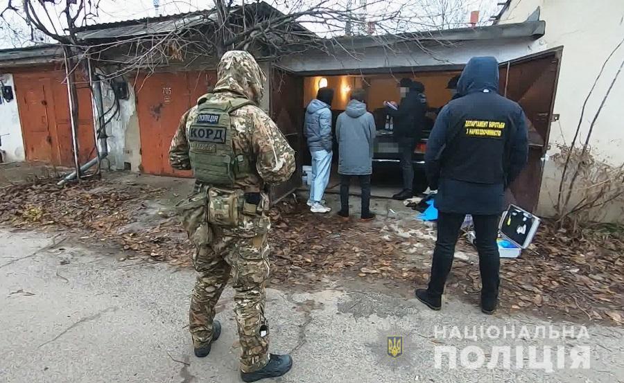 В Одесской области силовики задержали группу наркоторговцев (фото, видео) «фото»