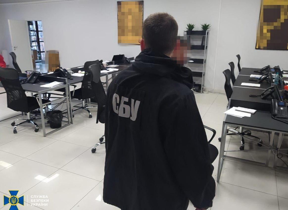 В Одессе СБУ заблокировала работу российских call-центров (фото) «фото»