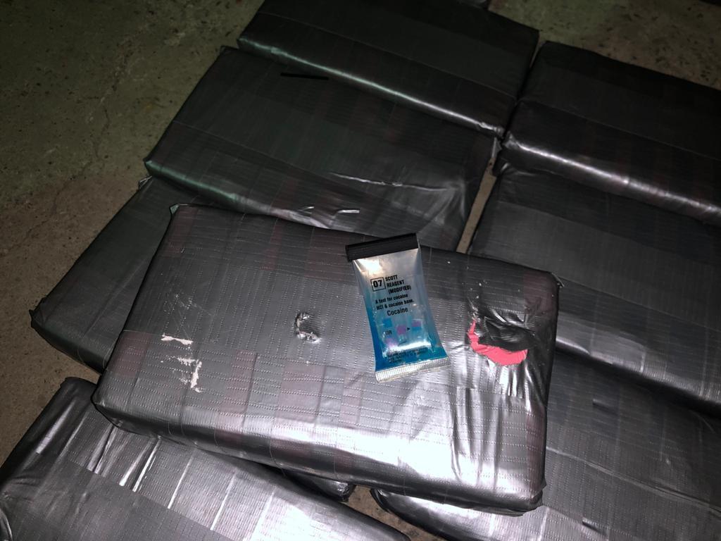 В Одесской области задержали контейнер с кокаином на 12 млн долларов (фото, видео) «фото»