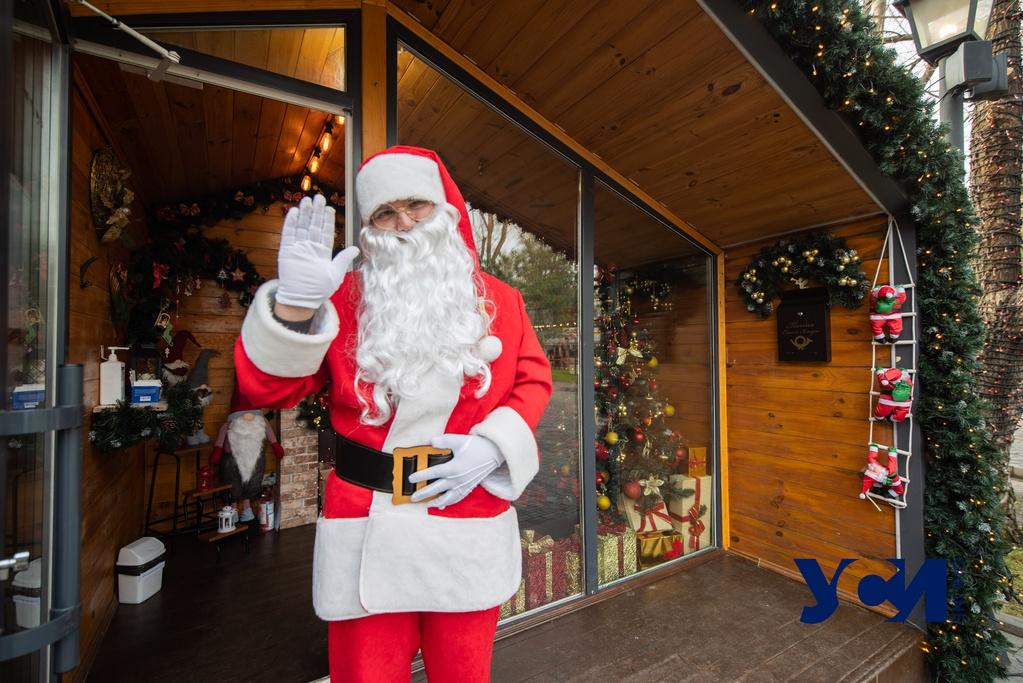 «Загадывают здоровье»: в Одессе работает резиденция Санта Клауса (фото) «фото»