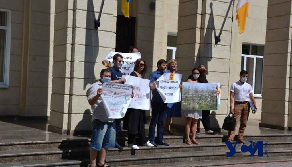 Избирательный активизм: как одесские общественники защищают стройки «Пространства» «фото»