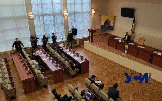 В Черноморске три фракции проигнорировали сессию горсовета «фото»