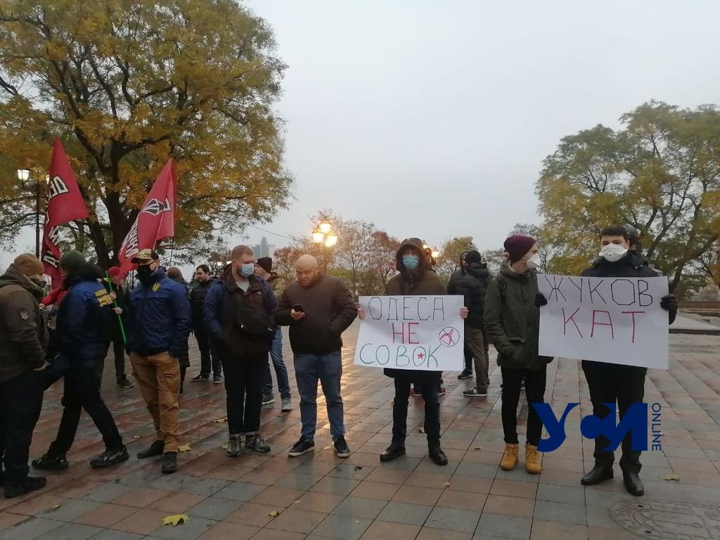 На Думской проходит митинг против переименования проспекта Небесной Сотни (фото, аудио) «фото»