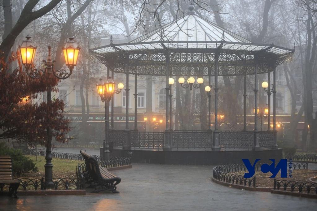 Густой туман и гололед: в Одессе объявили штормовое предупреждение (фото, видео) «фото»