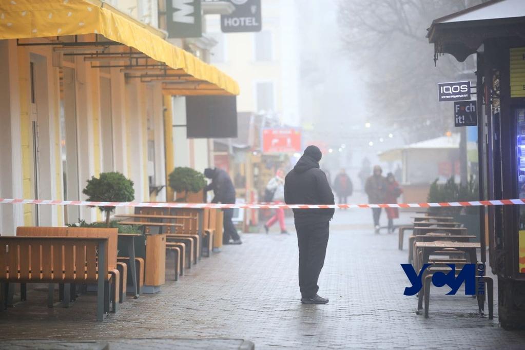 Мужчина угрожал взорвать себя в ресторане на Дерибасовской: что известно (фото, видео) Обновлено «фото»