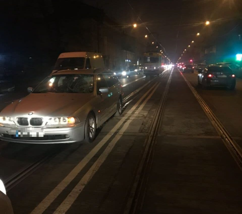 В центре Одессы легковушка сбила пешехода (фото) «фото»