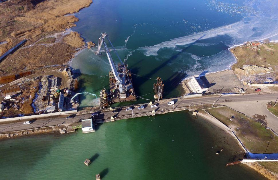 «Золотой» мост через Сухой лиман: более 11 млн «пропали» из-за нарушений «фото»