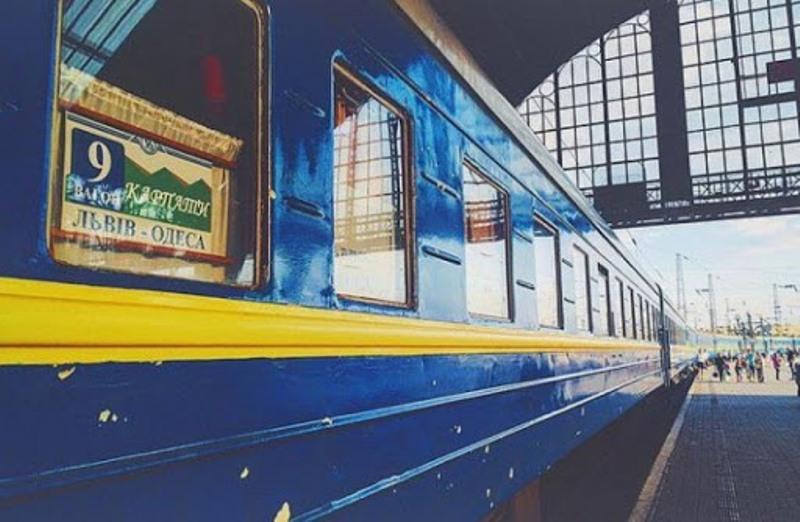 Во Львове одессит попал под поезд: он остался без ноги «фото»
