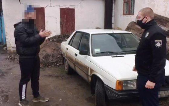 Душил и угнал авто: в Саврани пассажир напал на таксиста (фото, видео) «фото»