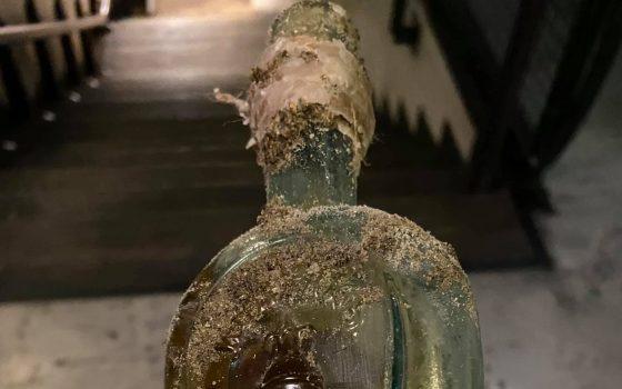 В Одессе заявили о находке бутылки коньяка возрастом более 115 лет (фото) «фото»