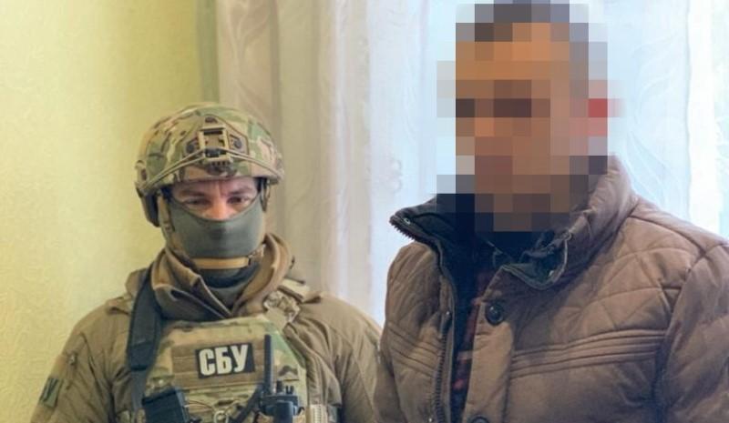 Украинца, служившего «пограничником ЛНР», задержали в Одесской области (фото, видео) «фото»