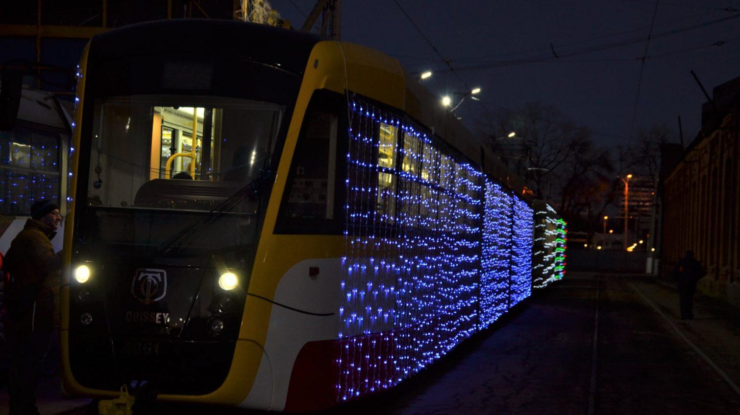 Рождественский парад трамваев с участием двух «Одиссей МАХ» перенесут (маршруты) «фото»