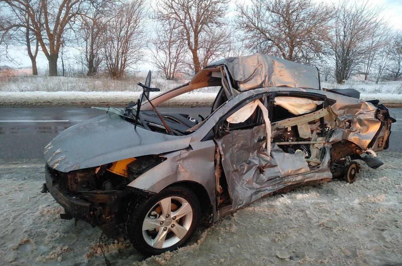 В ДТП на трассе Одесса — Киев погиб неизвестный мужчина (фото) «фото»