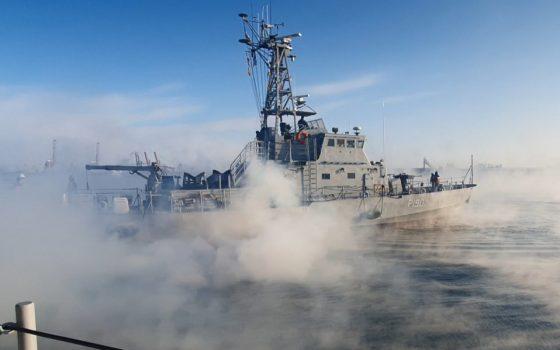 В Черном море испытали катер «Славянск» (фото) «фото»