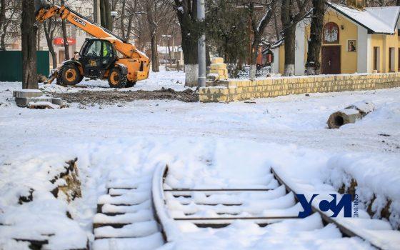 Как проходит ремонт Алексеевского сквера (фото) «фото»