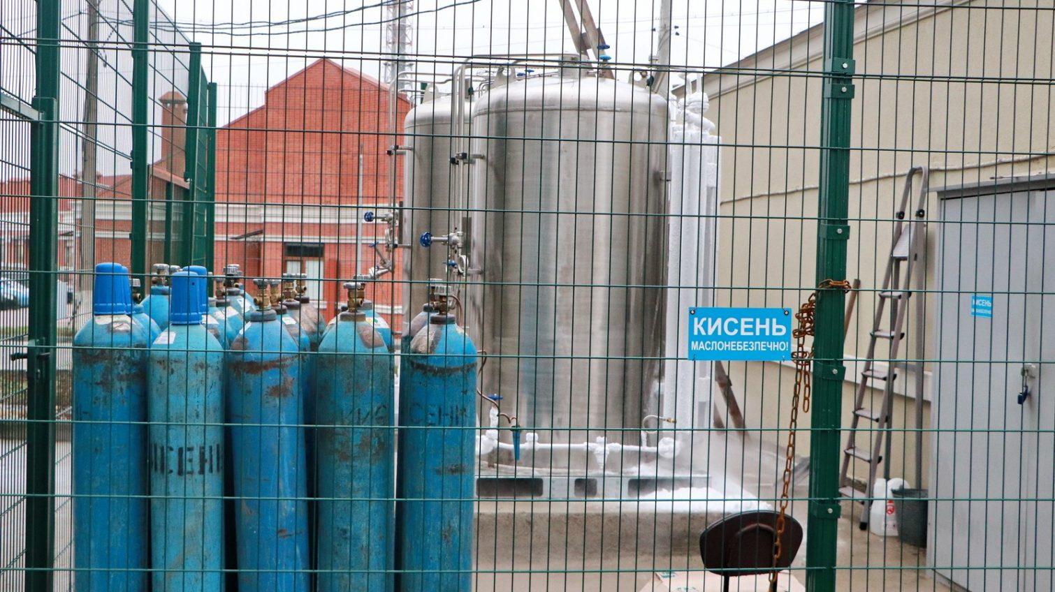 В больницах Одессы установлено 5 криоцилиндров для кислорода (фото) «фото»