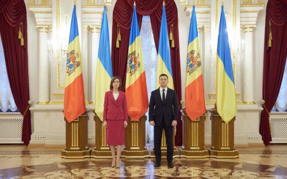 Майя Санду просит Зеленского помочь вернуть имущество Молдовы в Украине «фото»