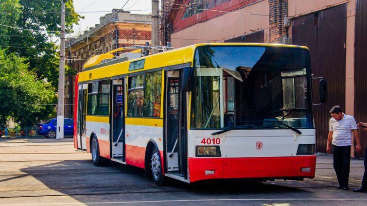 От поселка Котовского на Пересыпь будут курсировать новые электробусы «фото»